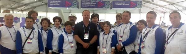 Troy Everett in Russia