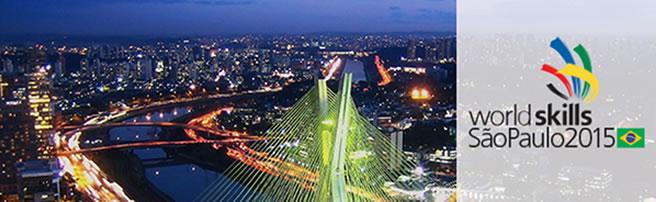 WorldSkills SaoPaulo 2015 Banner
