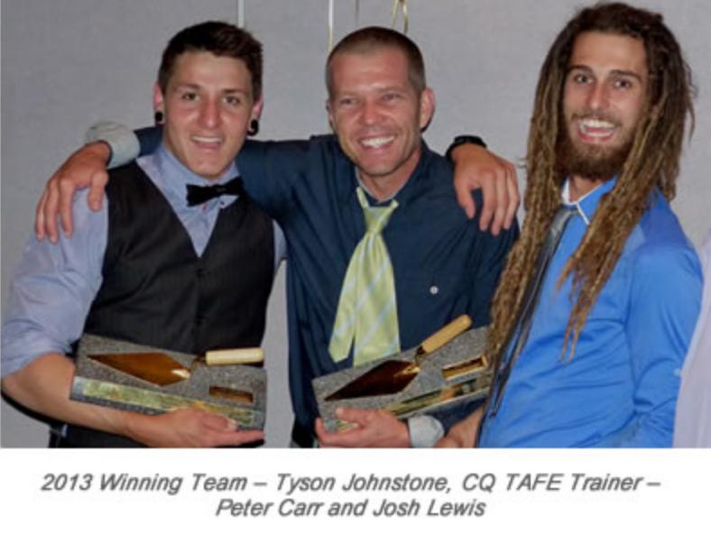 2015 Winners of the Golden Trowel Award