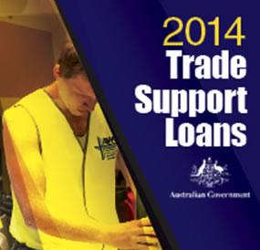2014 Trade Support Loans ATO logo
