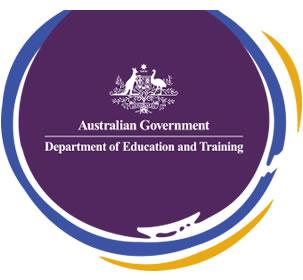 Dept of Education & Training logo