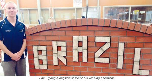 Sam Spong wth Caption