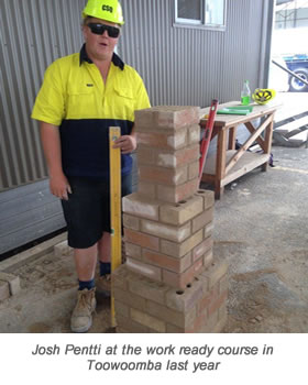 Josh Pentti Toowoomba wth Caption