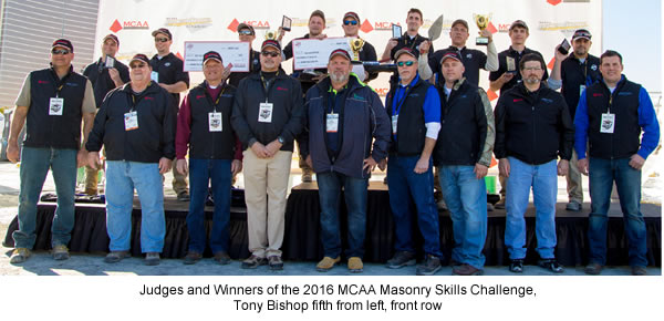 2016 Masonry Skills Challenge