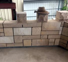 Beerwah Anzac Memorial 2016 Blocks wth Hat Image