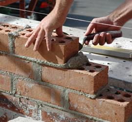 Laying a Brick Image