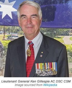 Lieutenant Gen Ken Gillespie V3 Special Link