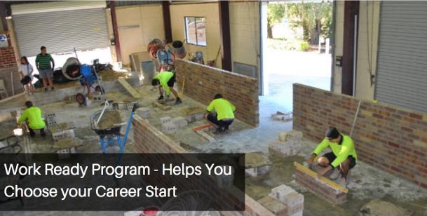 Bricklaying Work Ready Program