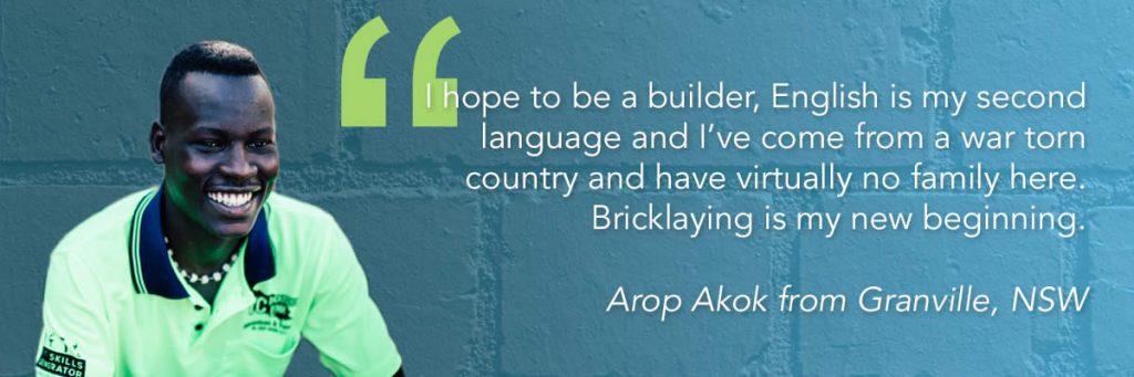 Arop Akok, NSW