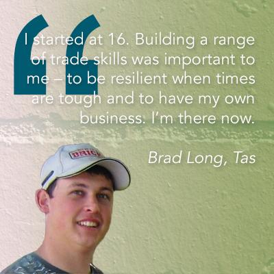 Brad Long, Tas