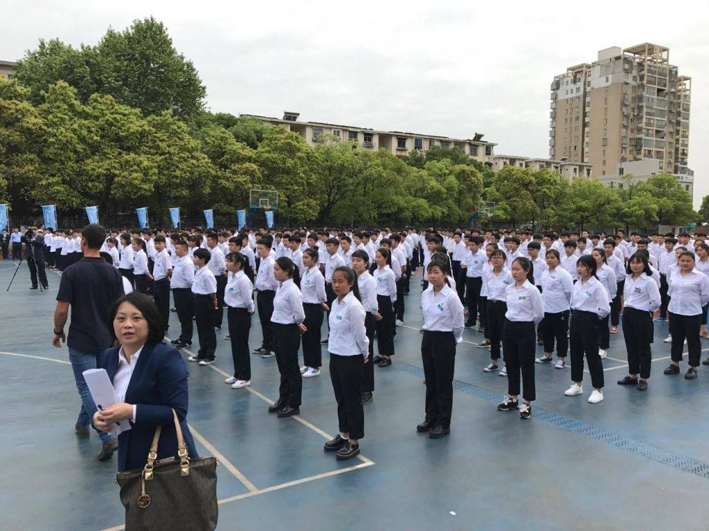 WorldSkills Training in China