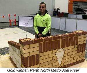 Joel Fryer, WorldSkills Competition Winner