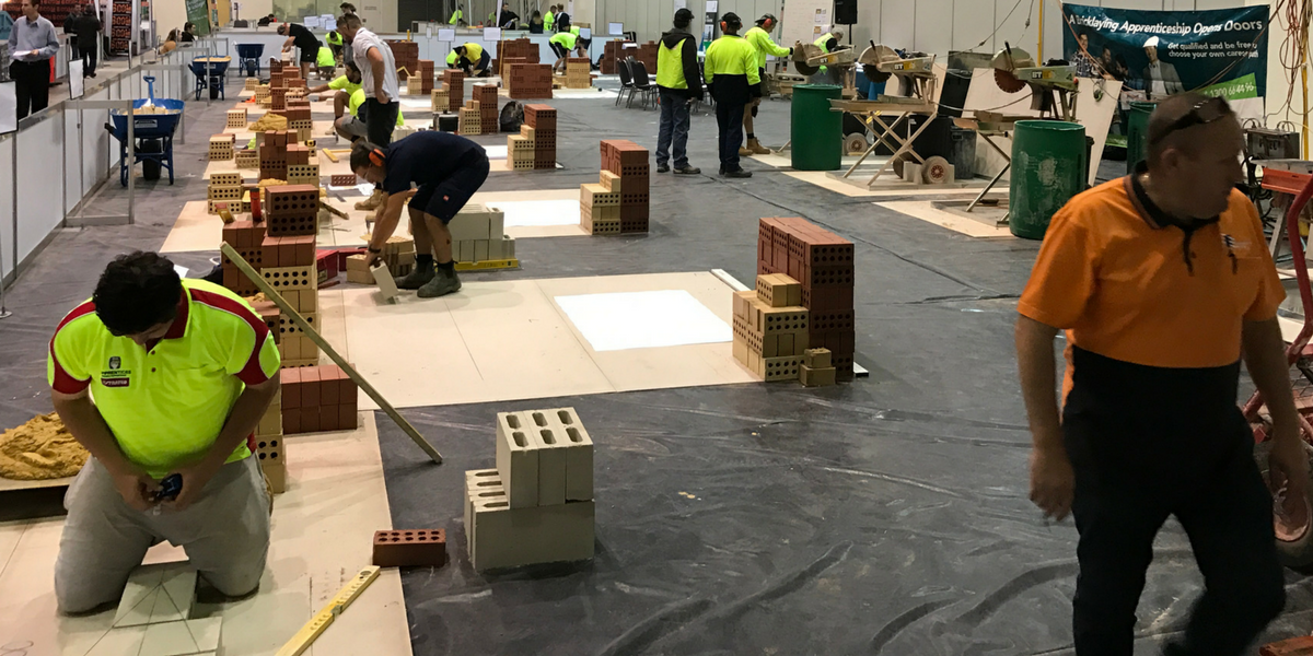 Competitors at WorldSkills Competition