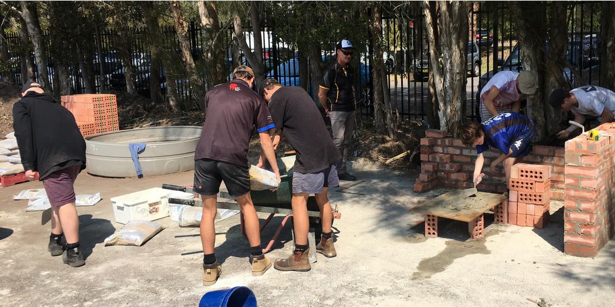 Tuggerah Lakes Berkeley Vale Students Top Bricklaying Trial