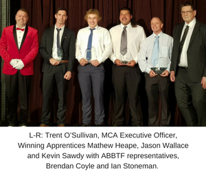 NSW Bricklaying TAFEs Select Apprentices of the Year 2017